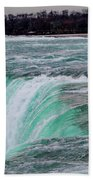Before The Falls Beach Towel by Lora J Wilson
