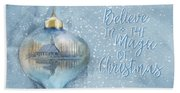 Believe In The Magic - Hope Valley Art Beach Towel