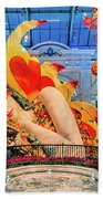 Bellagio Conservatory Falling Asleep Display Wide 2018 2.5 To 1 Aspect Ratio Beach Towel