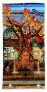 Bellagio Enchanted Talking Tree Ultra Wide 2018 2 To 1 Aspect Ratio Beach Towel