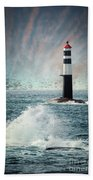Beyond The Northern Waves Beach Towel