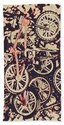 Bike Mountain Beach Sheet