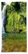 Bioko Waterfall Beach Towel