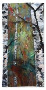 Birch Portrait I Beach Towel