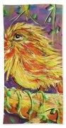 Bird In Nature Beach Towel