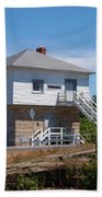 Blockhouse At Kingston Mills On The Rideau Canal Beach Towel