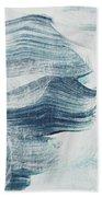 Blue #1 Beach Towel