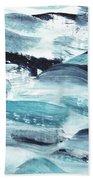 Blue #10 Beach Towel