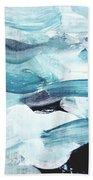 Blue #13 Beach Towel