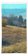 Blue Butte Prairie Reverie Beach Towel