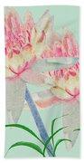 Blush Of Pink Beach Sheet