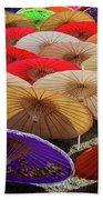 Bo Sang Umbrellas, Thailand Beach Towel