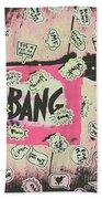 Boom Crash Bang Beach Towel