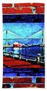 Bridges And Walls  Beach Sheet