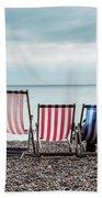 Brighton Beach Chairs Beach Towel