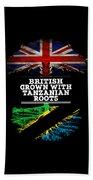 British Grown With Tanzanian Roots Beach Towel
