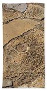 Broken Millstones Beach Towel