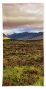 Buachaille Etive Mor From Rannoch Moor - Scotland - Landscape Beach Towel by Jason Politte