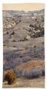 Burning Coal Vein April Reverie Beach Towel