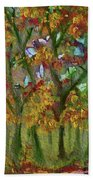 Bursting With Color Beach Towel