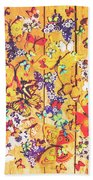 Butterfly Papercraft  Beach Towel