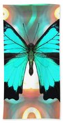 Butterfly Patterns 21 Beach Towel