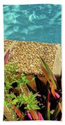 By The Pool Beach Towel