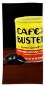 Cafe Bustelo Beach Towel