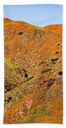 California Poppy Hills Beach Towel