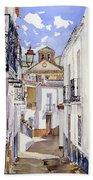 Calle De Cherin Beach Towel