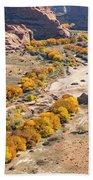 Canyon De Chelley Autumn Beach Towel