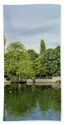 Carshalton Ponds Beach Towel