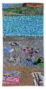 Cassis, France 2 Beach Sheet