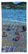 Cassis, France Beach Towel