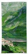 Castelluccio Beach Towel by Brian Jannsen