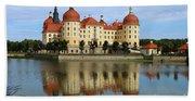 Castle Moritzburg  Beach Towel