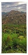 Catalina Foothills H1130 Beach Towel