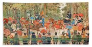 Central Park 1901 - Digital Remastered Edition Beach Sheet