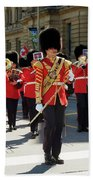 Changing Of The Guard In Ottawa Ontario Canada Beach Towel