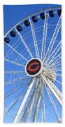 Chicago Centennial Ferris Wheel 2 Beach Sheet