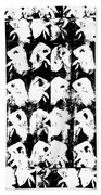 Chicken Farm 3 Beach Towel
