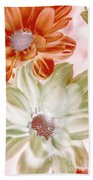 Chrysanthemum Creativity Beach Sheet