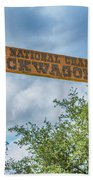Chuckwagon Cookoff Beach Towel
