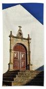 Church Of Misericordia. Portugal Beach Towel