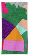 City 3 Beach Towel