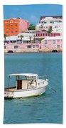 City Of Hamilton Bermuda Beach Towel