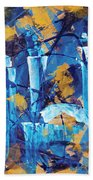 City Streets Cle Beach Towel
