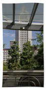 Civic Center Metro Station Los Angeles Beach Towel
