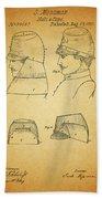 Civil War Military Hat Beach Towel