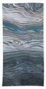 Clouds Over Lake Beach Towel
